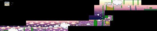 Yoshis Island World5 6 WelcomeToCloudWorld