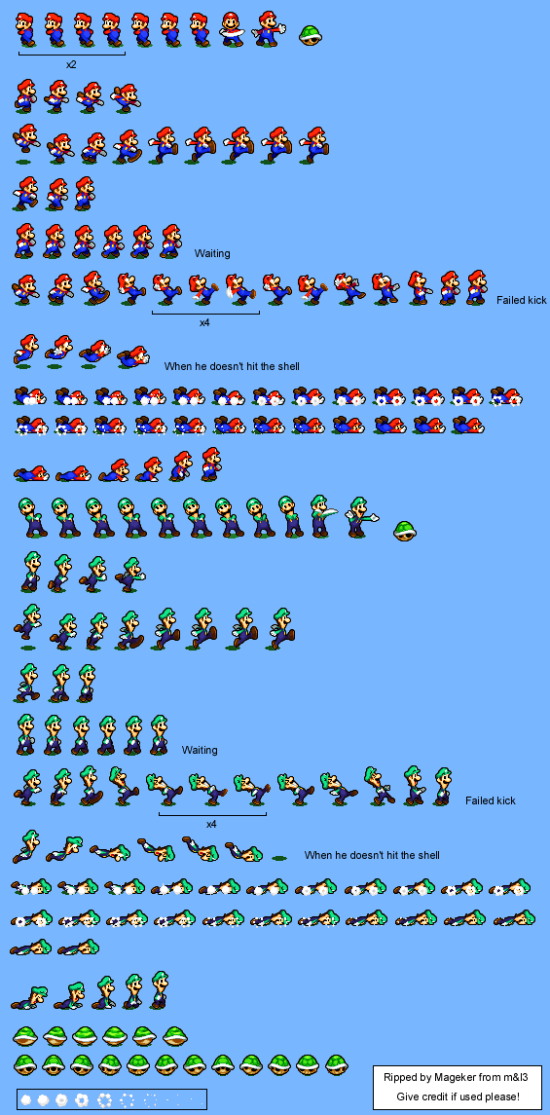 Mario and Luigi Bowsers Inside Story Playable Characters green shell