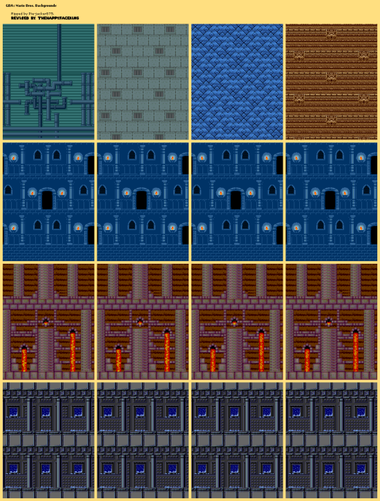 mario bros classic backgrounds
