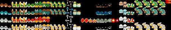 Super Mario Bros. Deluxe - Enemies and Bosses - Enemies