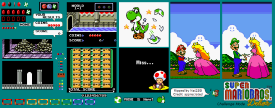 Super Mario Bros. Deluxe - Miscellaneous - Challenge Mode