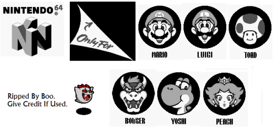 Super Mario Bros. Deluxe - Miscellaneous - Icons