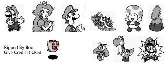 Super Mario Bros. Deluxe - Miscellaneous - Portraits