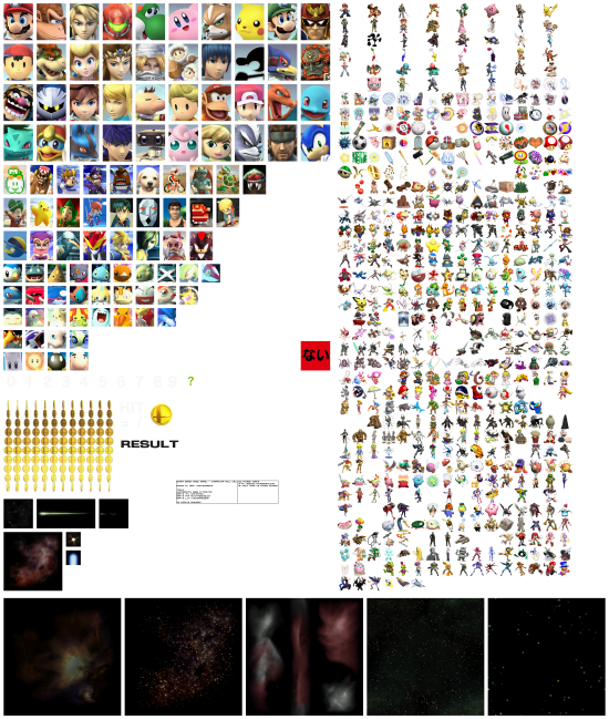 Super Smash Bros Brawl renders roll call