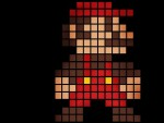 8 Bit Super Mario Retro HD wallpaper