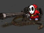 Shy Guy Mini Gun HD wallpaper