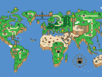 Super Mario World Earth Map HD wallpaper