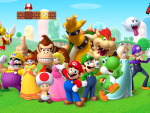 Super Mario Crew HD wallpaper