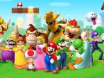 Super Mario Crew HD wallpaper