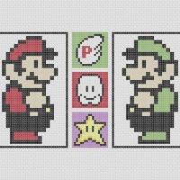 Mario And Luigi plus Misc pattern