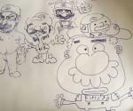 Gabe's Mario Fan art