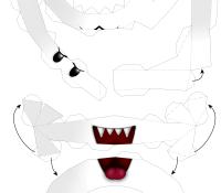 Super mario Boo papercraft