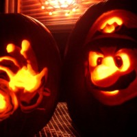 Fire Mario Pumpkin