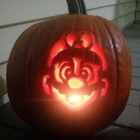 Mario Odyssey halloween Pumpkin