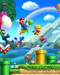 New Super Mario Bros. U Poster