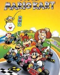 Retro Super Mario Kart Poster