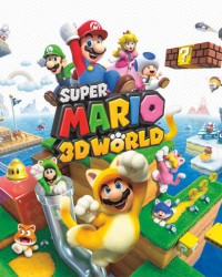 Super Mario 3D World Wii U Poster