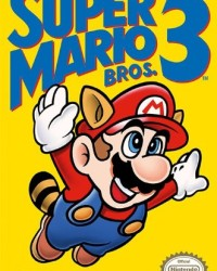 Super Mario Bros. 3 NES Box Art Poster
