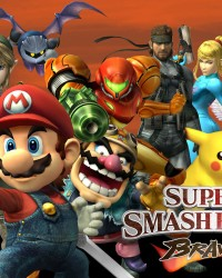 Super Smash Bro. Brawl Poster